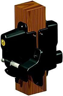 National wide Industries Keystone 闩锁 - 尼龙双面,可锁钥匙 - 黑色 - KLADV-P2-BK