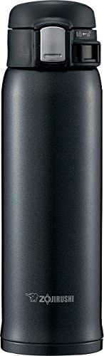 ZOJIRUSHI 象印 不銹鋼水杯 直飲 輕巧 保冷保溫 一觸開啟型 柔和黑 480ml SM-SD48-BC
