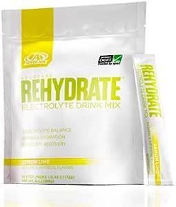 AdvoCare Rehydrate® Stick Packs - 柠檬绿