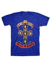 Guns N' Roses 十字架 皇家蓝 T 恤