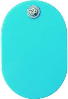 TRUSCO中山(株式会社)TRUSCO 带夹子小票 大 素色 60X40mm 5张装 天蓝色 THFLC-LB