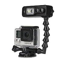 Light and Motion Sidekick 黑色双灯适用于 GoPro W/潜水臂