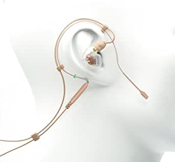 Countryman EM2W5L1SR5R  EM2 Wireless Earset with Single Right SE535 Earphone and Cable for Sennheiser Transmitters (Light Beige)