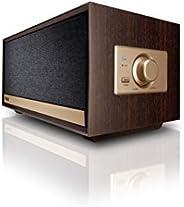 Magnat Prime Classic   活性扬声器复古外观   蓝牙 aptX,AUX输入,集成的 Class D 扩音器   深咖啡色