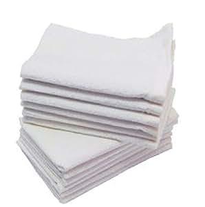 批发价格 * 纯棉毛巾,用于沐浴、脸和手部,运动(尺寸:27.94cm x 45.72cm) 白色 Generic