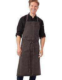 Chef Works 古董厨师围嘴围裙
