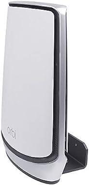 Koroao 壁挂支架适用于 Orbi 全家三频网眼 WiFi 6 系统,壁挂支架带支架兼容 Orbi 全家三频网眼 WiFi 6 系统