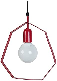 Tosel 15265 Visby 吊灯 Blech 钢/绘画环氧化 红色 280 x 900 毫米