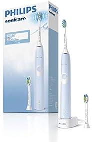飛利浦 Sonicare 防護清潔 電動牙刷 淺藍色 1モード?2つの強さ設定 HX6803/66