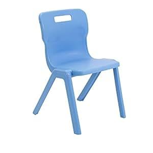 Titan 一体式课堂椅,塑料