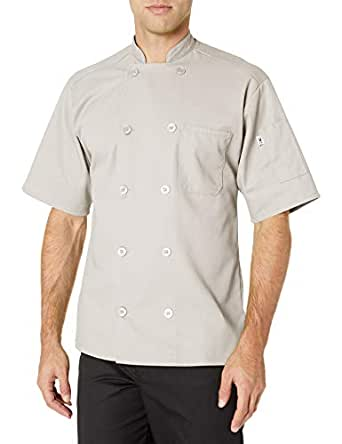 Uncommon Threads South Beach Chef Coat 短袖 石色 X-Small