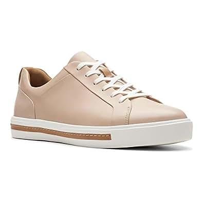 Clarks 其乐 女士 Un Maui 蕾丝德比鞋 Beige (Nude Leather) 35 EU