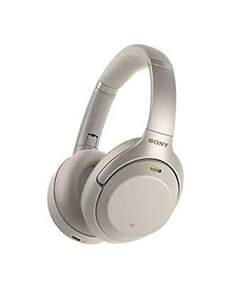索尼 Sony WH-1000XM3 无线降噪立体声耳机 (30小时续航,快速充电,手势控制,环绕声模式) 银色