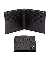 Gucci/古奇男短款钱包皮质两折时尚简约双G标志94472310