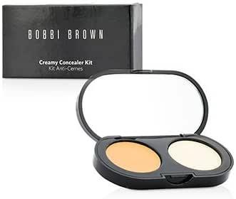 [Bobbi Brown] New Creamy Concealer Kit - Natural Tan Creamy Concealer + Pale Yellow Sheer Finish Pressed Powder 3.1g/0.11oz