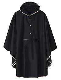 LINENLUX 男式防雨夹克连帽户外外套带口袋