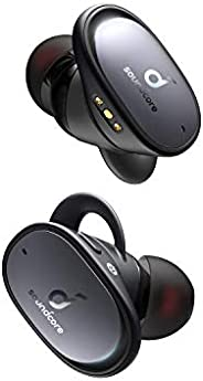 Anker Soundcore Liberty 2 Pro 真正的无线耳塞,带 Astria 同轴声学架构的蓝牙耳塞,耳内工作室性能,32 小时播放时间,听觉个性化 EQAK-848061059212