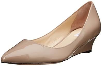 Cole Haan 女士 Bradshaw 坡跟 40 正装高跟鞋 枫木糖漆 6 B 美国