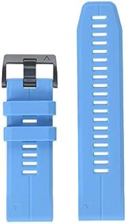 Garmin 010-12741-02 Quickfit 26 手表腕带 - 青蓝色硅胶配件腕带 适用于 Fenix 5X Plus/Fenix 5X