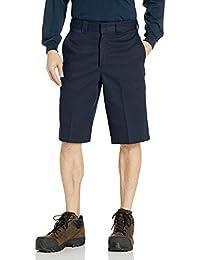 Dickies 男士 13 英寸弹性多口袋工作短裤宽松版型