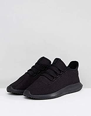 Adidas三叶草 男 休闲跑步鞋 TUBULAR SHADOW CG4563 FTWR白/纯黑/FTWR白 40 (UK 7)