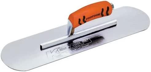 Kraft 工具镀铬无燃烧宝石,带 ProForm 手柄 12 x 3-1/2-Inch CF491PF