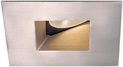 WAC Lighting HR-2LED-T509N-W-CB Recessed Downlight 2-Inch Lens Wallwasher Square Trim, Copper Bronze 需配变压器