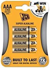 JCB,AAA *碱性电池(4 件)