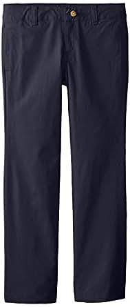 Lee 女童经典直筒斜纹裤 *蓝 14