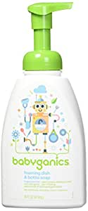 Babyganics甘尼克宝贝 泡沫洗手液 无香味 16昂士 按压瓶(3包装)