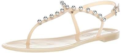 BCBGMAXAZRIA 女式 Jellia 果冻凉鞋 肤色 5 M US