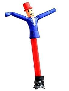 LookOurWay Uncle Sam 形状空气舞者充气管人附件,10 英尺(无吹风)
