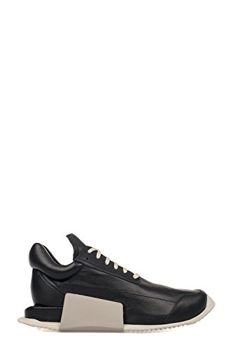 RICK OWENS RICK OWENS 男人 RM17S9810S8114191 黑色 皮革 运动鞋 / 意大利直邮【亚马逊海外卖家】
