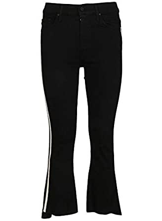 MOTHER 女人 1157180AGYR 黑色 棉 牛仔裤/意大利直邮【亚马逊海外卖家】