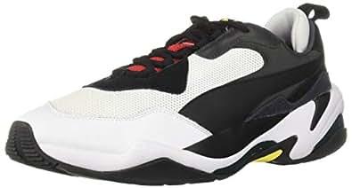 PUMA 男士 Thunder 运动鞋 Puma Black-high Risk 7 M US
