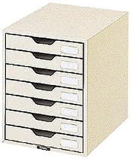 NAKABAYASHI 信纸盒 A4・竖型 象牙色 NLC 7段