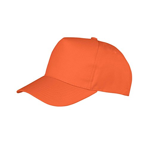 result core boston 成人纯色英伦风棒球帽 (均码) (橘色)