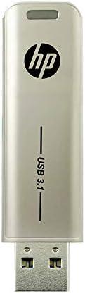【Amazon.co.jp 限定】HP USBメモリ 128GB USB 3.1 スライド式 金属製 HPFD796L-128 GJP