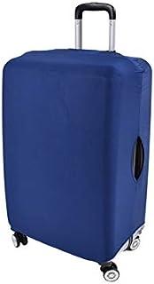 Clöudz TSA 认可的小行李保护盖,防尘防刮 - 有弹性且坚固,适合高达 53.34 厘米的随身行李箱,易穿脱钩环闭合 - 蓝色