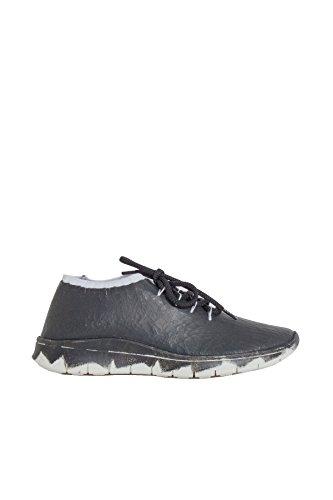 MAISON MARGIELA MAISON MARGIELA 男人 S57WS0128S47527961 白色/黑色 皮革 运动鞋 / 意大利直邮【亚马逊海外卖家】