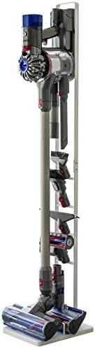 Yamazaki 山崎実業 無線吸塵器支架 白色 約寬22X深29X高127 tower 支持V10V8V7V6系列 3540