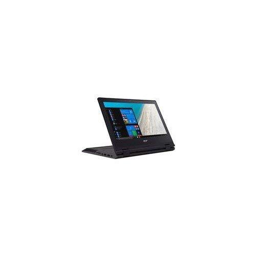 Acer Travelmate B118-RN 11.6 英寸 FHD 可转换笔记本电脑 - (黑色)(Intel N4200,4 GB 内存,64 GB eMMC,Windows 10 Pro)