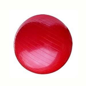 AINAAN 高级超厚瑜伽球,抗爆裂 - 防滑!55 厘米大小健身球 红色 2019