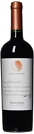 【亚马逊直采】Vina Errazuriz 伊拉苏酒庄单一葡萄园佳美娜红葡萄酒750ml(亚马逊进口直采,智利品牌)