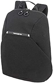 Samsonite 新秀丽 Neoknit 笔记本电脑背包 14 Zoll (42 cm - 16 L) 黑色 / 白色 黑色 / 白色