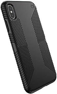 Speck Products 兼容手機殼適用于 Apple AP-1005,Presidio Grip 手機殼117106-1050 均碼 黑色/黑色