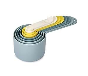 Joseph Joseph 8-Piece Measuring Cups and Spoons Set Nest Measure 猫眼石