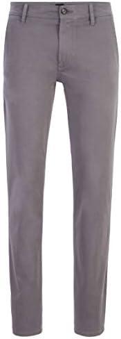 BOSS orange 男式 schino-slim D 裤子 Grey (Dark Grey 027) W38/L34