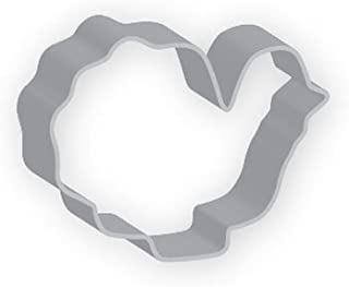 The American Cookie Cutter by Flavortools Thanksgiving Turkey Cookie Cutter, 3-1/4-Inch, Set of 12