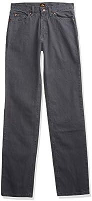 Lee 男式宽松直筒牛仔裤 Thunder 40W x 29L